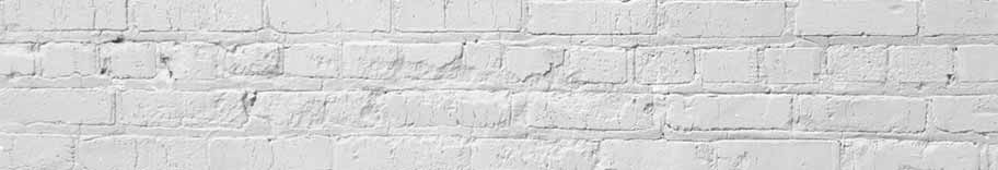 Section of white brick wall