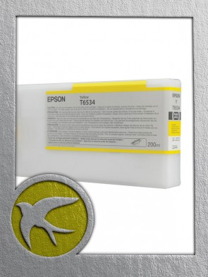 Epson C13T653400 Yellow Ink 200ml (T6534)