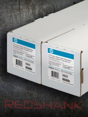 "HP Everyday Adhesive Matte Polypropylene (Twin Pack) 60"" (1524 mm x 22.9 m)"