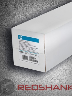 HP White Satin Poster Paper