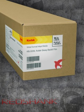 Kodak KBLGS36 solvent roll product packaging