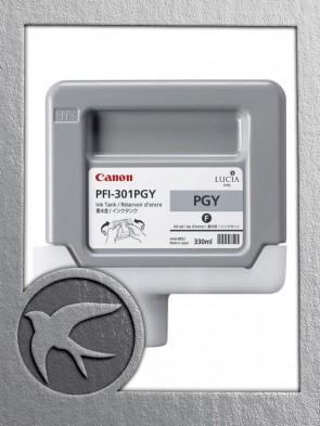 Canon PFI-301PGY Photo Grey Ink 330ml (1496B001AA)