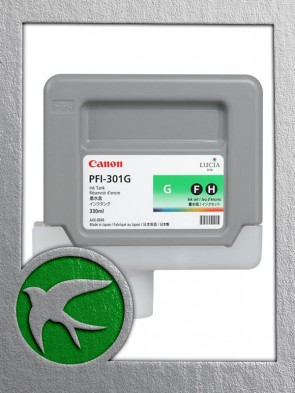 Canon PFI-301G Green Ink 330ml (1493B001AA)