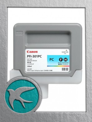 Canon PFI-301PC Photo Cyan Ink 330ml (1490B001AA)