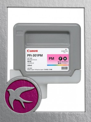 Canon PFI-301PM Photo Magenta Ink 330ml (1491B001AA)