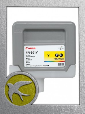 Canon PFI-301Y Yellow Ink 330ml (1489B001AA)