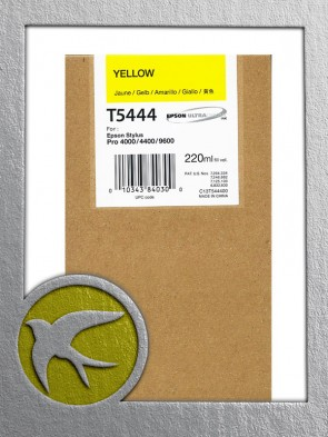 Epson C13T544400 Yellow Ink 220ml (T5444)